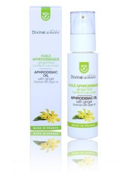 Huile Aphrodisiaque Gingembre Ylang Ylang massage BIO