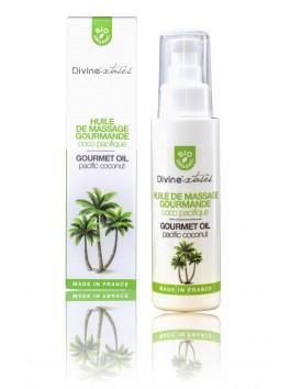 Huile sèche massage BIO léchable Coco Pacifique