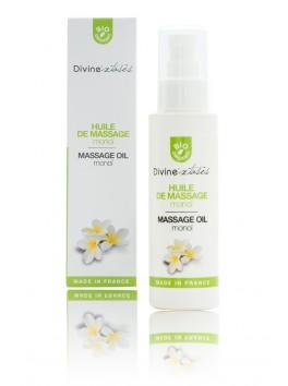 Huile sèche massage BIO léchable Monoi
