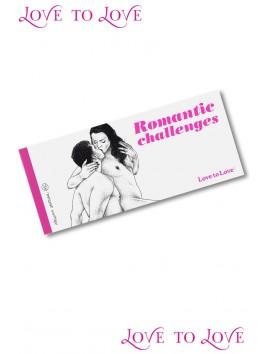 Romantic chéquier x1 de 20 challenges