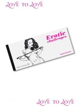 Erotic chéquier x1 de 20 challenges