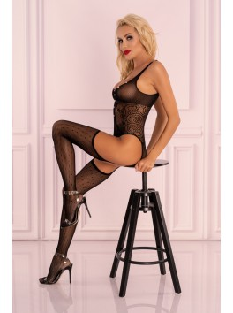 Imrama Body en bodystocking porte jarretelles bas S/L
