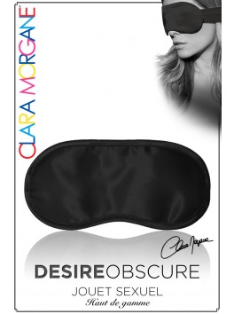 Masque Desire Obscure satin Noir