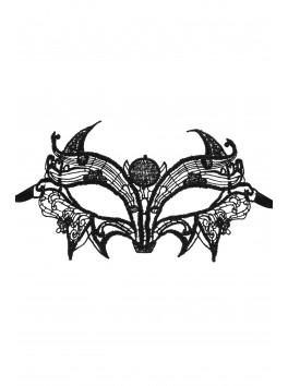 Astre Masque en guipure noire