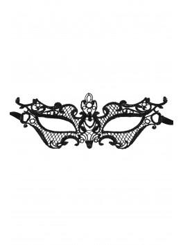 Celeste Masque en guipure noire