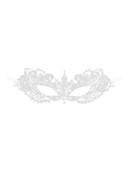 Evita  Masque en guipure Blanc