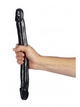 Double Dong noir 38x3.5  PVC