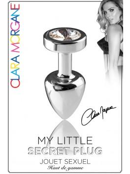 My Little Secret Plug type Rosebud Medium Bijou Diamant