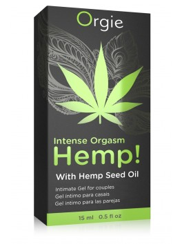 HEMP! Intense Orgasme Gel excitation Cannabis