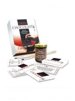 Défis Chocolatés jeu préliminaire pour couple