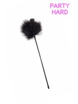 Longue plume duvet noir