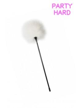 Longue plume duvet blanc