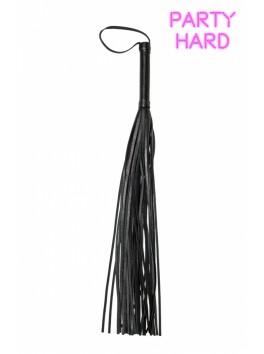 Fouet martinet noir 72 cm