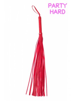Fouet martinet rouge 72 cm