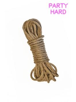 Corde Bondage Lin naturel 10 m