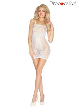 Robe nuisette blanche